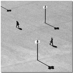 The unaware shadow game (Nespyxel) Tags: light blackandwhite bw lines order shadows streetlamp pov perspective bn ombre minimal pointofview direction projection lookingdown luce biancoenero grafism grafismo prospettiva geometrie linee proiezione geometries direzione ordine unawareness challengeyouwinner nespyxel stefanoscarselli