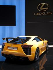 Lexus LFA Nurburgring (Peter Bonnington) Tags: geneva lfa motorshow lexus nurburgring 2011