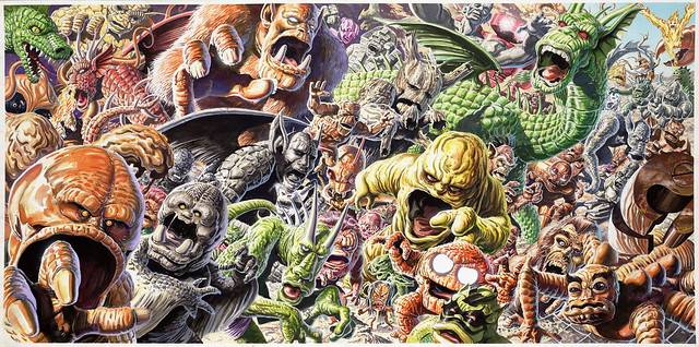 Jeff Slemon - Marvel Monsters