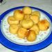 Patatas bomba rellenas de atún claro de Conservas Serrats