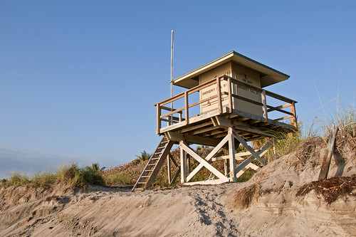 lifeguard station by Alida's Photos