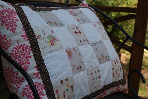 Maggie's Pillow Closeup