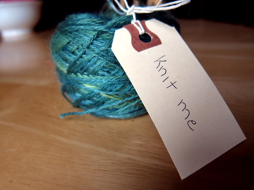 """knit me"" for yarn bombs"