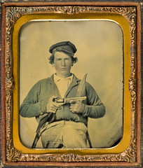 Private Japhet Collins, Confederate States Army] (SMU Central University Libraries) Tags: texas confederate civilwar csa privates