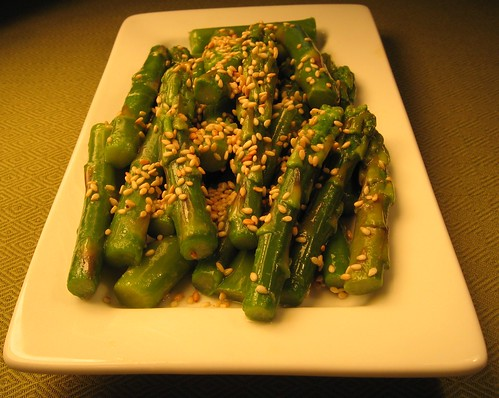 Asparagus Salad with Sesame Seeds 004