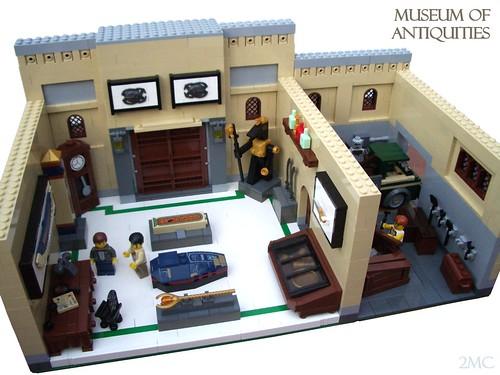 Custom minifig Museum Interior