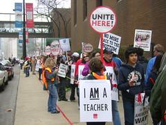Solidarity, Teachers & Hotel Workers