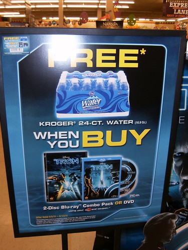 Get some free water with your Tron