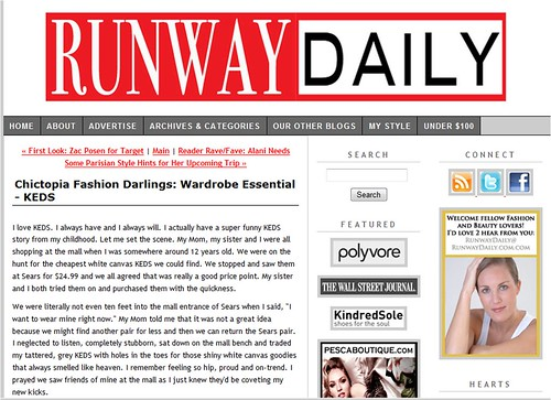 Runway Daily Feature