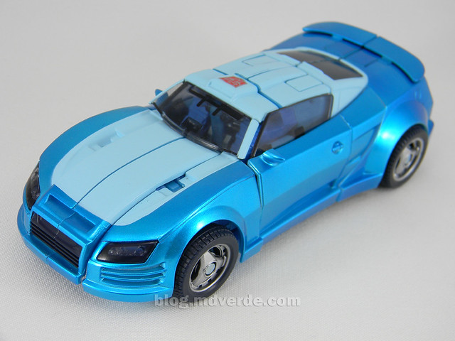 Transformers Blurr United Deluxe - modo alterno
