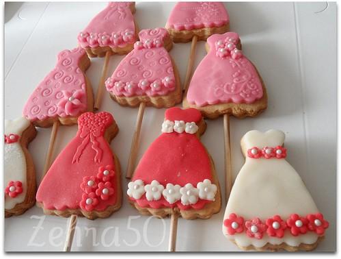 Butiek Elbise kurabiyeler