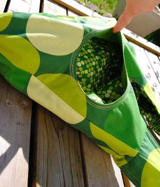 Omkeerbare Zomertas - Reversible Summer bag