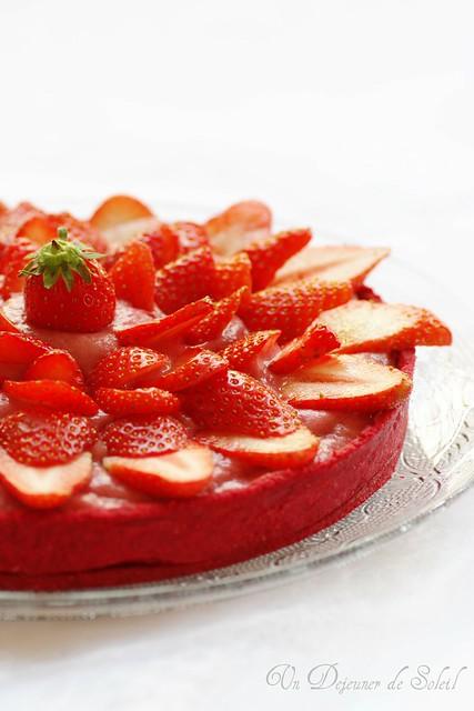 Strawberries everywhere...