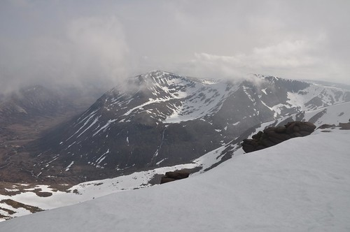 Cairn Toul and Sgor an Lochain Uaine from Braeriach