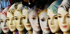 EXPOSED WOMAN (LA ORERO) Tags: woman still dolls mujeres mute exposed wornout muñecas mudas maniquí mutantes quietas expuestas desgastadas