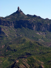 Gran Canaria - Roque Nublo Seen from Artenara