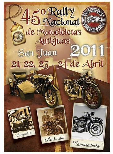 Rally Nacional de Motocicletas Antiguas San Juan 2011. Dias 21, 22, 23, y 24 de Abril. San Juan. Argentina. by [º(o) ] Camerarider