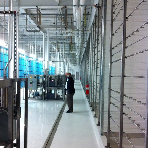 Filter room #2 at Facebook datacenter. Huge!