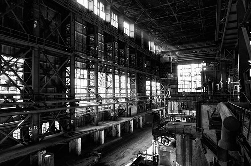 Inside iron factory hall - Kremikovtzi AD