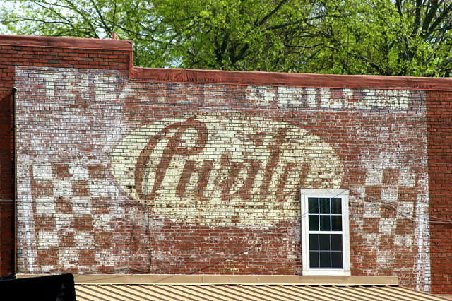Theater Grill Purity Wall Ad - Smyrna, TN