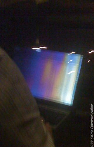 Bloqueur d'écran à effet limité