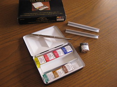 Bijou Box - Winsor & Newton (Bichobolas) Tags: watercolor bijou sketchers winsornewton sketchkit bijoubox