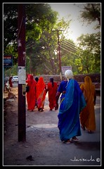 Local women (Janiscula) Tags: trip travel viaje ladies india women colorful asia colours colores adventure backpacking colourful backpacker saree sari picnik saris aventura rishikesh mochilero