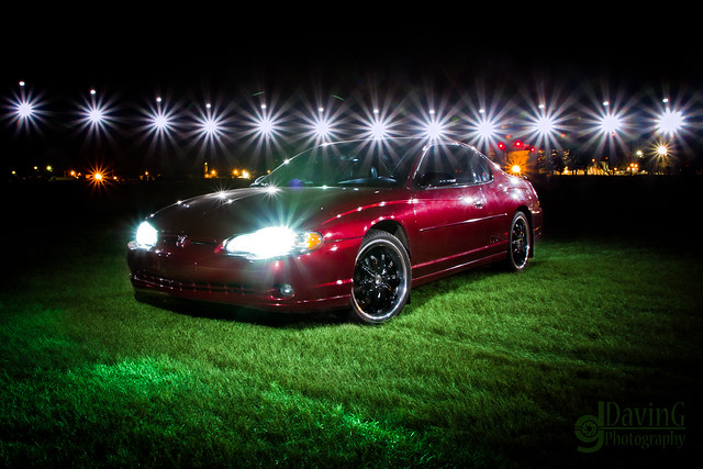 chevrolet car night canon outdoors lights flash montecarlo davin nighttime chevy 7d vehicle tamron speedlite strobist 1750mm gegolick eos7d 430exii