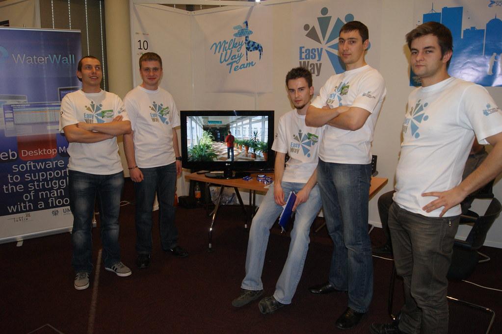 Software Design - Prezentacja druzyny Milky Way Team