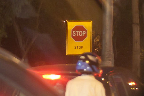 Redundant sign