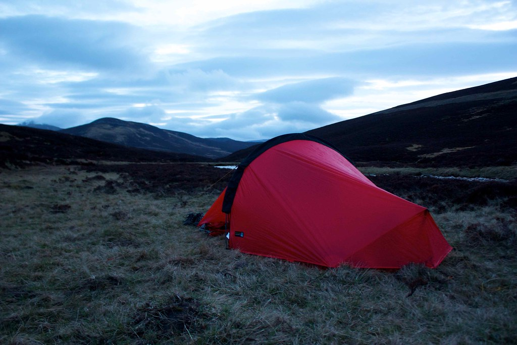 Tent, late evening