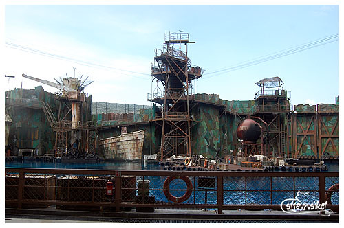 waterworld set