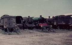 Woodham's scrapyard Barry 1976/77 (Spearmint100) Tags: abandoned barry scrapyard 1977 locomotives uksteam woodhams britishsteamlocomotives