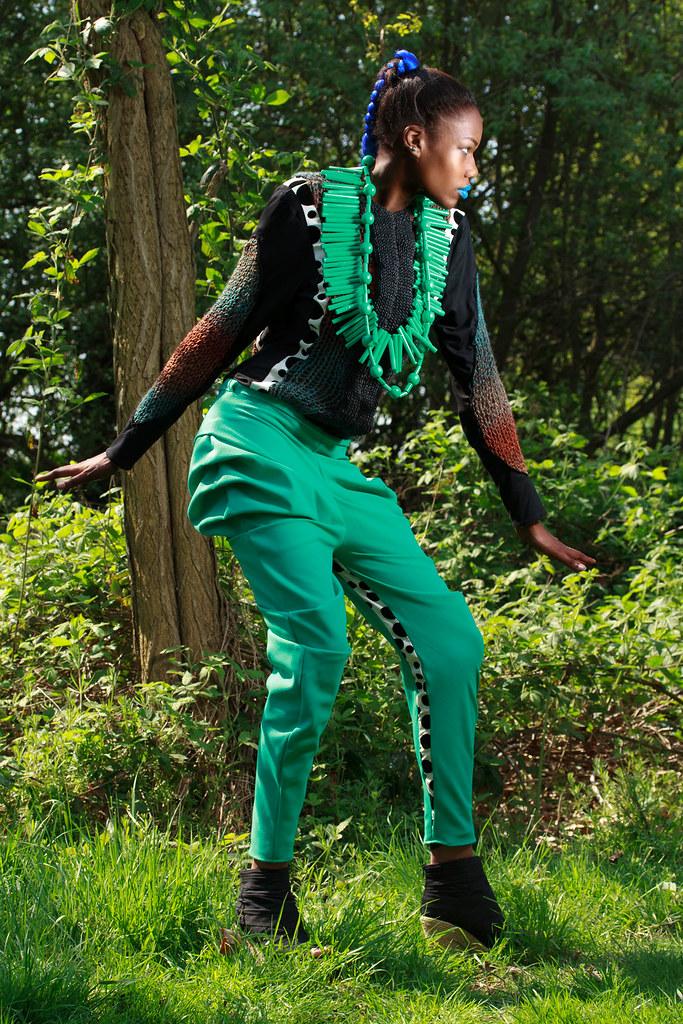 Freddie Models Jennefer Onah London Fashion