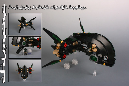 """CHIMERE"" Prototype hybrid stealth bomber"