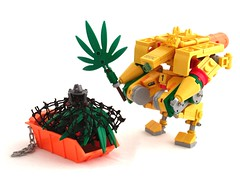 Farmmech (Mechanekton) Tags: robot weed lego farm space 420 pot rasta mecha mech hemp ganja