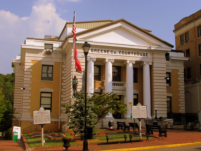Greene County Courthouse A - Greeneville, TN