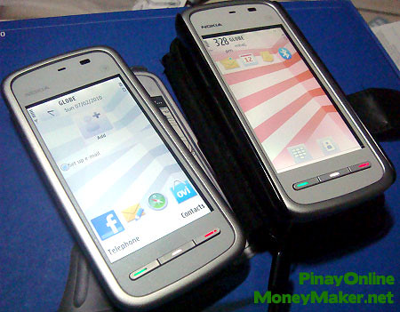 The 2 Nokia 5230 phones I won - PinayOnlineMoneyMaker.net