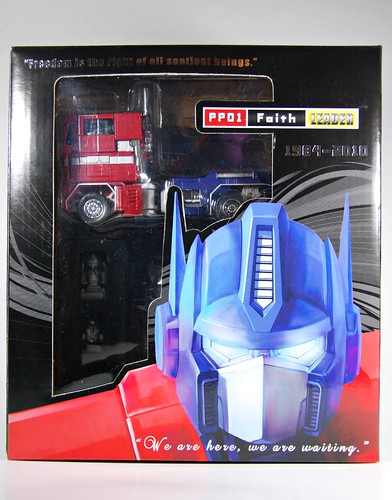 iGear's PP-01: Faith Leader aka Optimus Prime