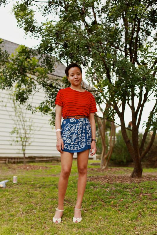 redblue - austin sxsw street fashion style