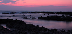 Seascape 2 (Deryk Tolman) Tags: longexposure sunset seascape rocks exposure waves jersey