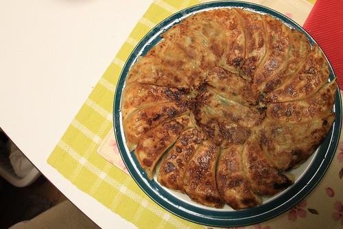 レミパンで焼いた餃子