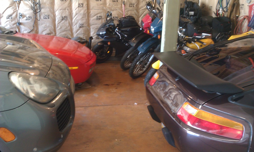 Motorcycle Parking And Storage Ideas Adventure Rider