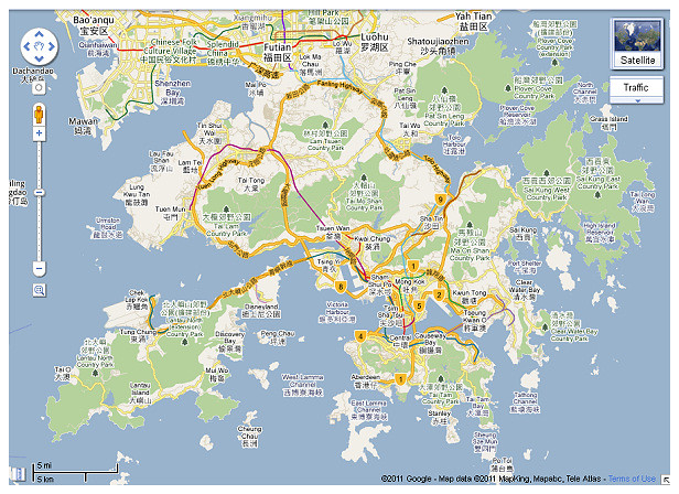 Map_Hong Kong
