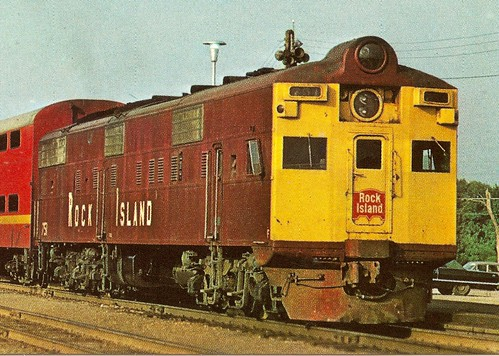 Custom Rock Island Diesel Locomotives