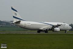 4X-EKA - 29957 - El Al Israel Airlines - Boeing 737-858 - Luton - 110418 - Steven Gray - IMG_3965