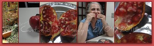 Delícia de romã - sabor de infância by Cantinho da Aracy
