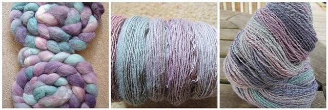 Lavender fields handspun