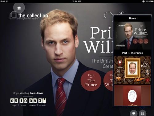 The Collection iPad App Screenshot