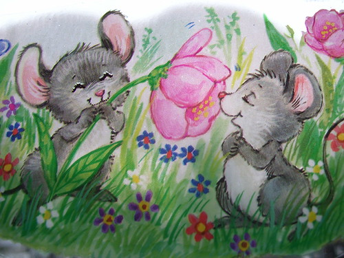 Spring Mice by E. Magee